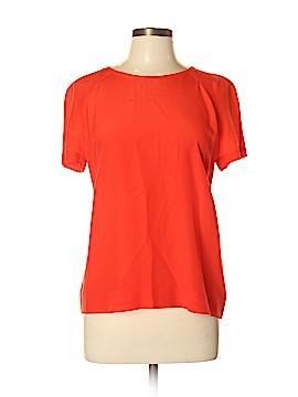 Tory Burch Short Sleeve Silk Top Size 10