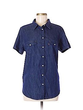 Levi Strauss Signature Short Sleeve Button-Down Shirt Size XL