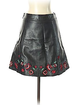 Parker Leather Skirt Size 4