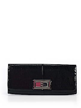 Lulu Townsend Leather Clutch One Size