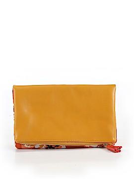 Rachel Pally Leather Clutch One Size
