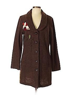 Cynthia Rowley TJX Wool Cardigan Size L