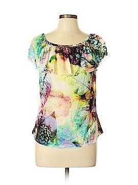 Serendipity Maui Short Sleeve Blouse Size XL