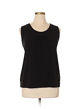 Susan Graver Sleeveless Top Size XL