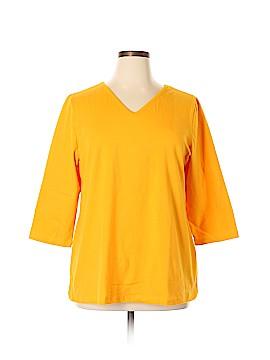 Jessica London 3/4 Sleeve Top Size 18 - 20 (Plus)