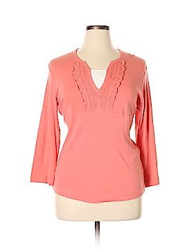 Van Heusen 3/4 Sleeve Top Size XL