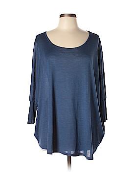 Eileen Fisher Short Sleeve Silk Top Size M