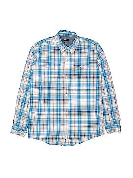Gap Kids Outlet Long Sleeve Button-Down Shirt Size 13