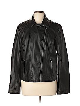 Celebrity Pink Faux Leather Jacket Size XL