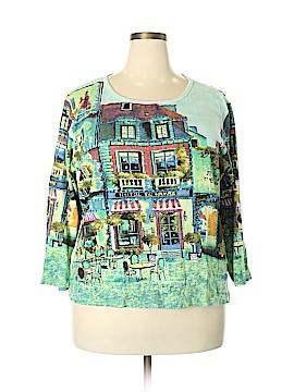 DressBarn 3/4 Sleeve T-Shirt Size 2X (Plus)