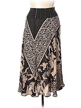 HARARI Silk Skirt Size XL