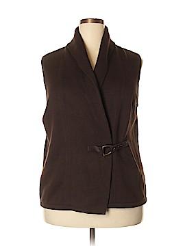 Chaps Cardigan Size 1X (Plus)