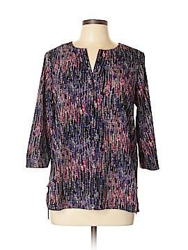 Dana Buchman 3/4 Sleeve Blouse Size L