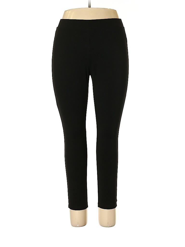 5847c9186a5975 Premise Studio Solid Black Leggings Size 1X (Plus) - 69% off | thredUP