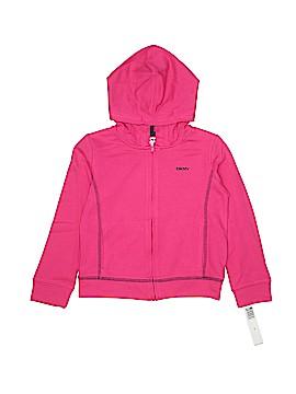 DKNY Zip Up Hoodie Size 5