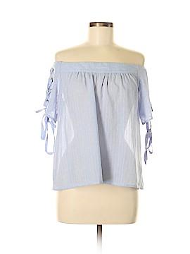 Pookie & Sebastian Short Sleeve Blouse Size S