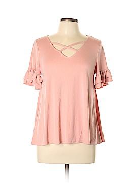 Alya Short Sleeve Top Size M