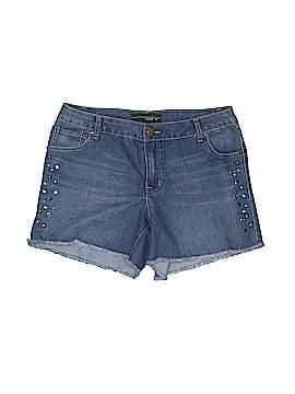 Lane Bryant Denim Shorts Size 14 (Plus)