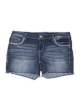 Maurices Denim Shorts Size 16