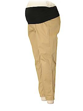 Ann Taylor LOFT Maternity Khakis Size 10 (Maternity)