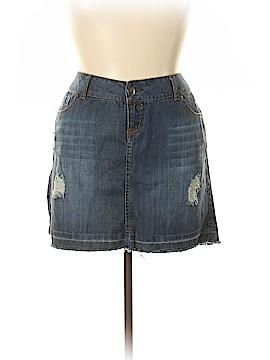 Torrid Denim Skirt Size 16 (Plus)