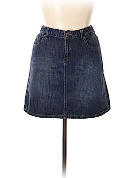G.H. Bass & Co. Denim Skirt Size 14