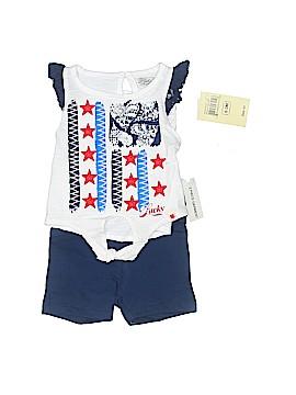 Lucky Brand Short Sleeve Top Size 0-3 mo