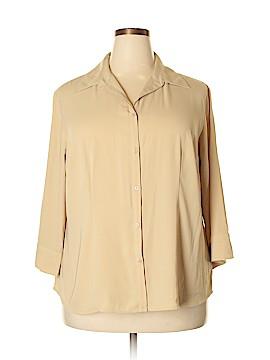Covington Long Sleeve Blouse Size 22w (Plus)