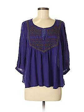 Ecote 3/4 Sleeve Blouse Size M