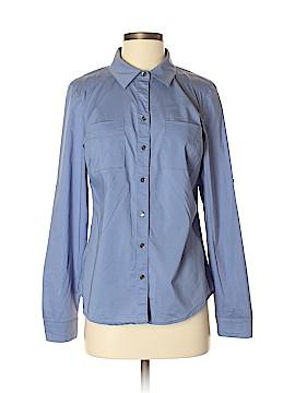 Ann Taylor Long Sleeve Button-Down Shirt Size 4