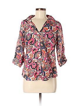 Ann Taylor Factory 3/4 Sleeve Blouse Size 8