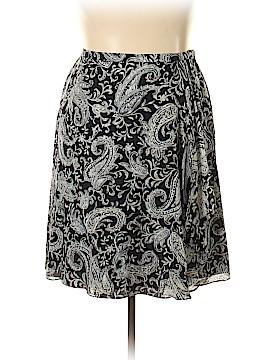 Talbots Silk Skirt Size 18w (Plus)