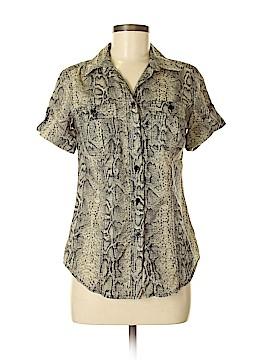 MICHAEL Michael Kors Short Sleeve Button-Down Shirt Size 6