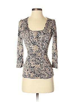 Classiques Entier 3/4 Sleeve Silk Top Size S