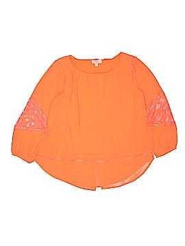 GB Girls Long Sleeve Blouse Size X-Large (Youth)