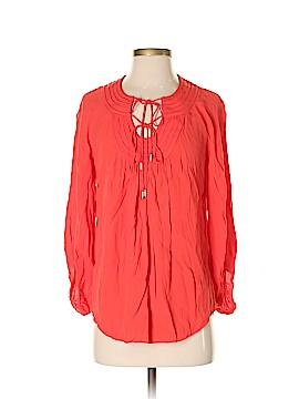 Diane von Furstenberg 3/4 Sleeve Blouse Size 4