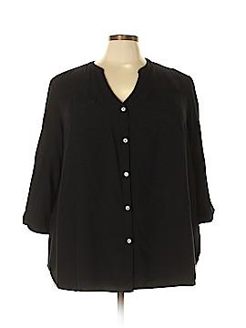 Intro 3/4 Sleeve Blouse Size 3X (Plus)