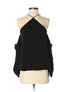 Line & Dot 3/4 Sleeve Blouse Size S