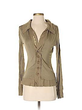 Leshop Long Sleeve Button-Down Shirt Size S