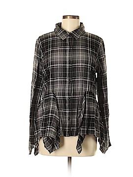 BP. Long Sleeve Button-Down Shirt Size M