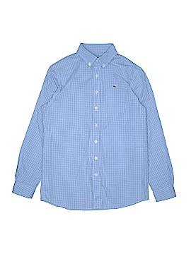 Vineyard Vines Long Sleeve Button-Down Shirt Size L (Kids)