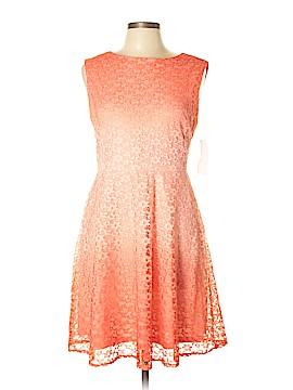 Sandra Darren Casual Dress Size 12 (Petite)