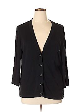 Coldwater Creek Silk Cardigan Size 2X (Plus)