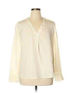 J. Crew Long Sleeve Silk Top Size 18 (Plus)