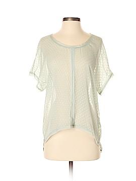 Jigsaw Short Sleeve Silk Top Size 4