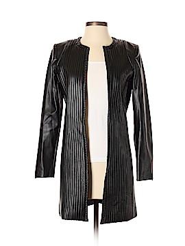 Jay Godfrey Faux Leather Jacket Size 0