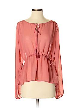 SWS Streetwear Society Long Sleeve Blouse Size S