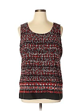 Anne Klein Sleeveless Blouse Size XL