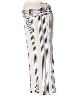 Indigo Blue Linen Pants Size L (Maternity)