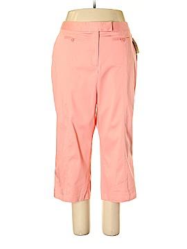 Dalia Casual Khakis Size 18 (Plus)